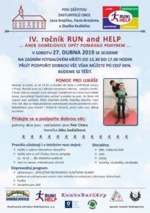 RUN a Help plakát A4