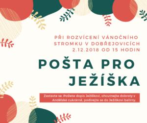 Rozvícení vánočního stromku v Dobřejovicích (1)